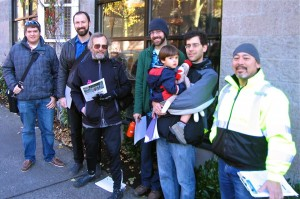 University Greenways members talked to 43 business owners about safety on Roosevelt Way