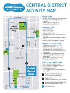 Central District Summer Parkway 2015