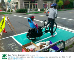 Ballard Greenways Protected Intersection
