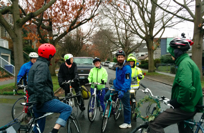 Tour of healthy safe streets in Central Seattle Greenways