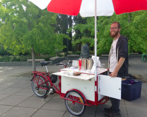 Cafe Red Coffee Cart will grace Rainier Ave S during PARK(ing) Day