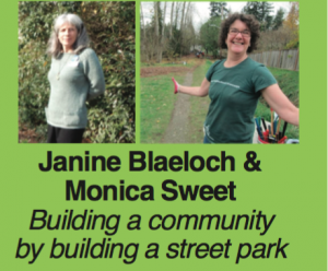 Community Builder Janine and Monica