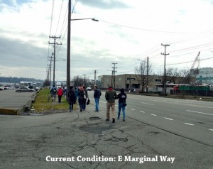 Current Condition on E Marginal Way