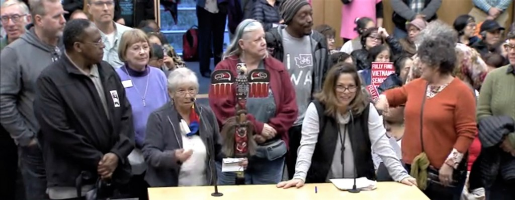 Duwamish Tribe City Council Budget Hearing 10.22.2019 Public Comment