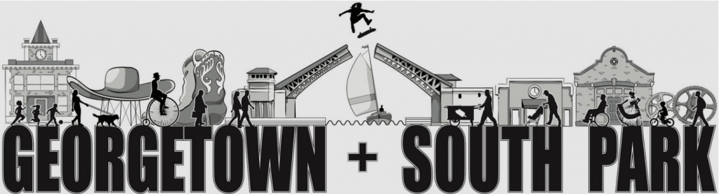 Georgetown + South Park Logo