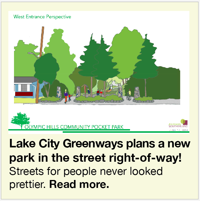 Lake City Greenways Park July 2014