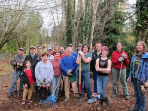 Lake City Greenways Builds Community In Olympic Hills Pocket Park