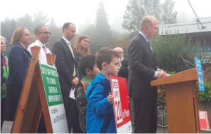 Mayor Ed Murray launches Safe Routes to School Action Plan Oct 8 2015