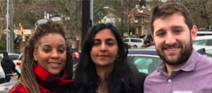 Phyllis Porter, Kshama Sawant, Robert Getch spoke at the Memorial for Ronacin