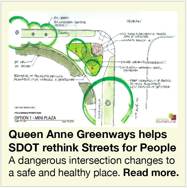 Queen Anne Greenways design July 2014