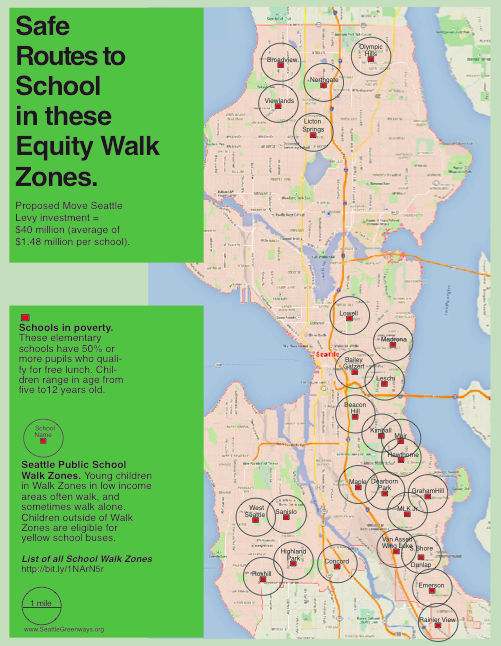 Safe Routes for Kids Equity Map
