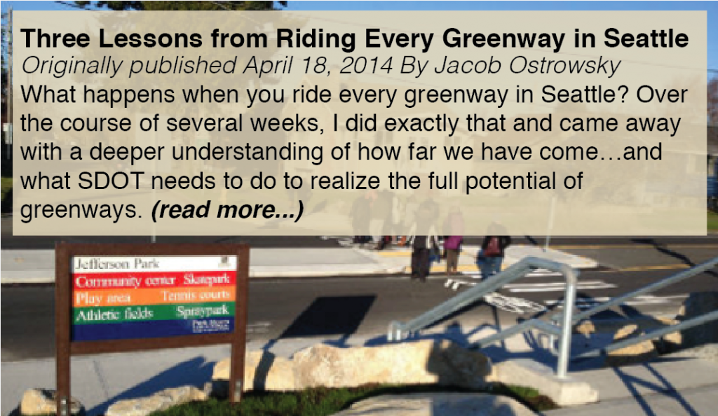 Three lessons from riding every greenway