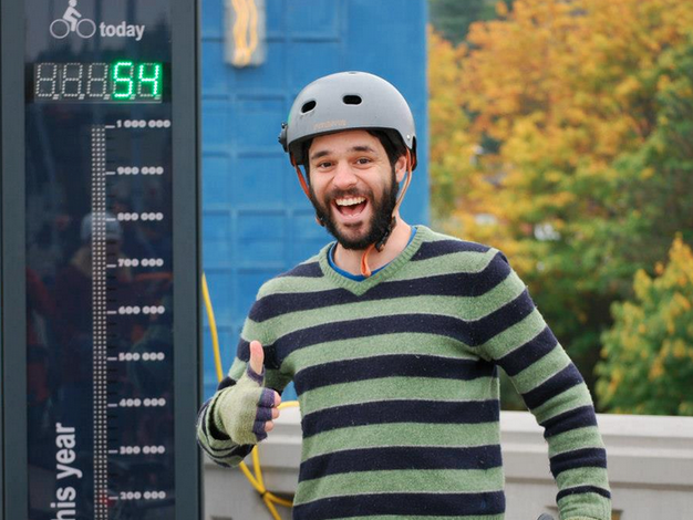 Seattle Bike Blog's Tom Fucoloro is the 2014 Greenways Champion
