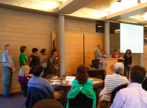 SDOT Director Scott Kubly awards SNGreenways 2015 Transportation Team Award