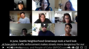 Screenshot Whose Streets Our Streets --Streets For People 2020