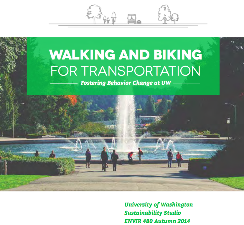 click on image to read full student report on Walking & Biking for Transportation
