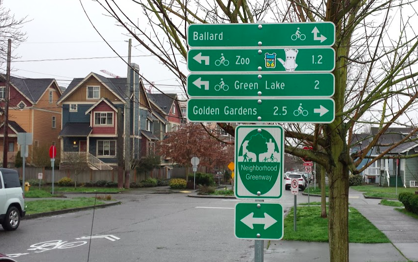 What's the sound of two greenways crossing?