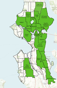 Seattle Neighborhood Greenways Groups