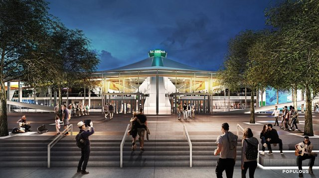 New Seattle Storm arena