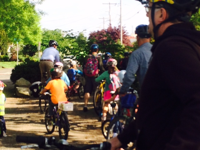 JSIS Bike to School Day May 7 2014